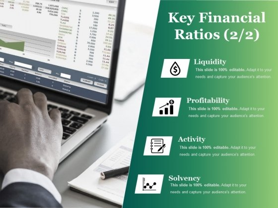 Key Financial Ratios Template Ppt PowerPoint Presentation Icon