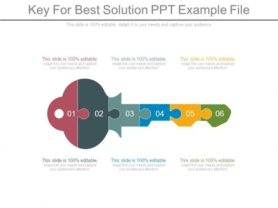 Key For Best Solution Ppt Example File