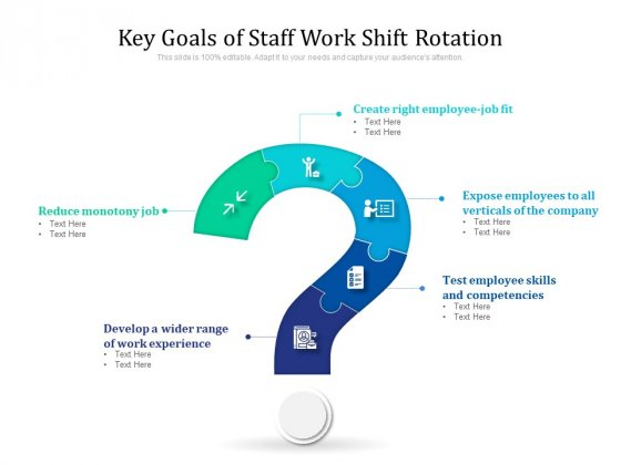 Key Goals Of Staff Work Shift Rotation Ppt PowerPoint Presentation File Design Ideas PDF