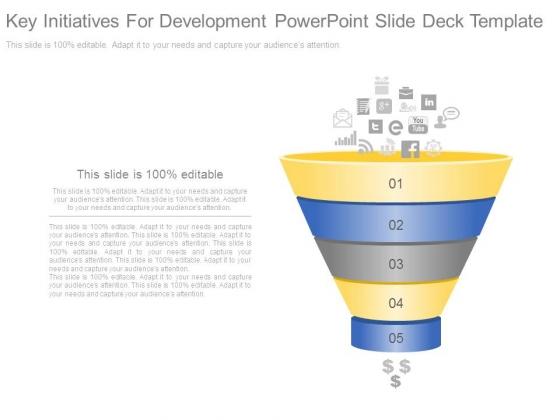 Key Initiatives For Development Powerpoint Slide Deck Template