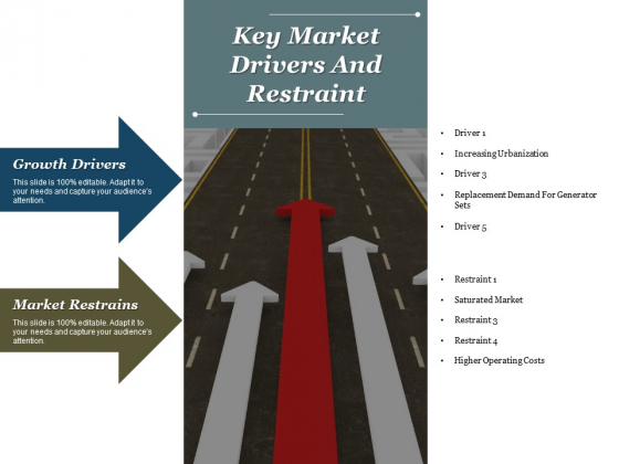 Key Market Drivers And Restraint Ppt PowerPoint Presentation Infographics Files