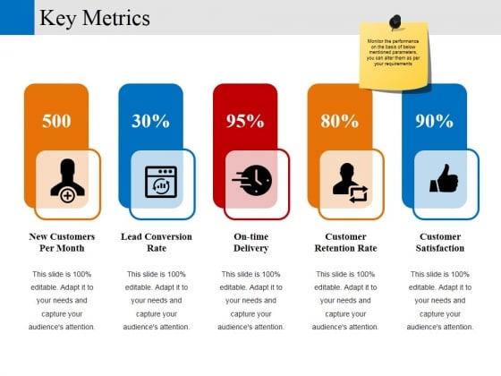 Key Metrics Ppt PowerPoint Presentation Layouts Ideas