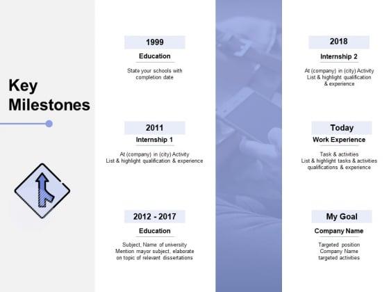 Key_Milestones_Education_Ppt_PowerPoint_Presentation_Infographics_Designs_Download_Slide_1