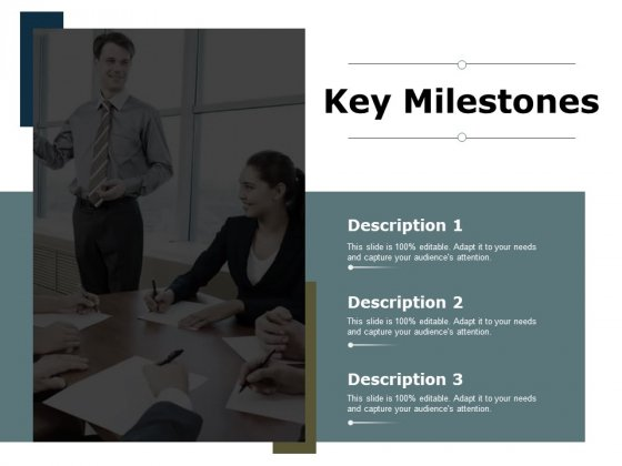 Key Milestones Slide Ppt PowerPoint Presentation Slides Rules