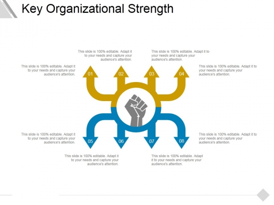 Key Organizational Strength Ppt PowerPoint Presentation Outline Designs Download