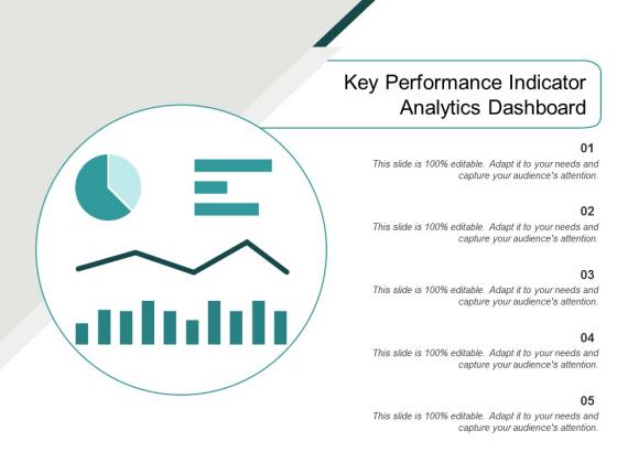 Key Performance Indicator Analytics Dashboard Ppt PowerPoint Presentation Model Example Topics