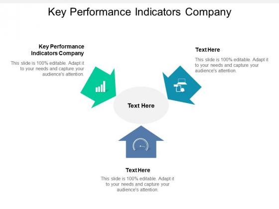 Key Performance Indicators Company Ppt PowerPoint Presentation Slides Model