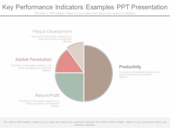 Key Performance Indicators Examples Ppt Presentation