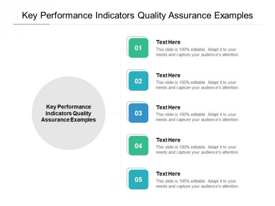 Key Performance Indicators Quality Assurance Examples Ppt PowerPoint Presentation Gallery Examples Cpb Pdf