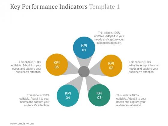 Key Performance Indicators Template 1 Ppt PowerPoint Presentation Inspiration