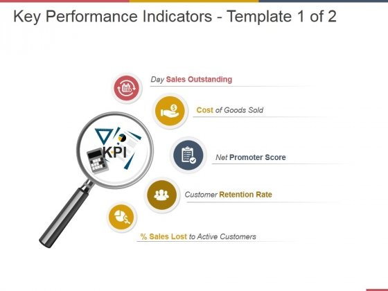 Key Performance Indicators Template 1 Ppt PowerPoint Presentation Portfolio