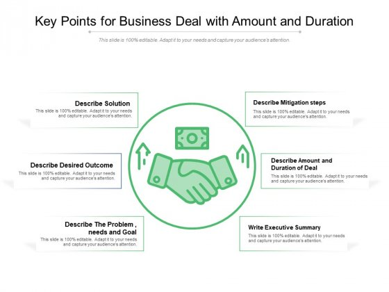 Key_Points_For_Business_Deal_With_Amount_And_Duration_Ppt_PowerPoint_Presentation_File_Example_File_PDF_Slide_1
