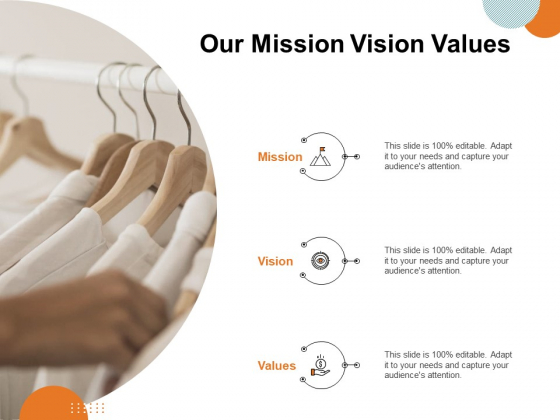 Key Product Distribution Channels Our Mission Vision Values Ppt File Good PDF