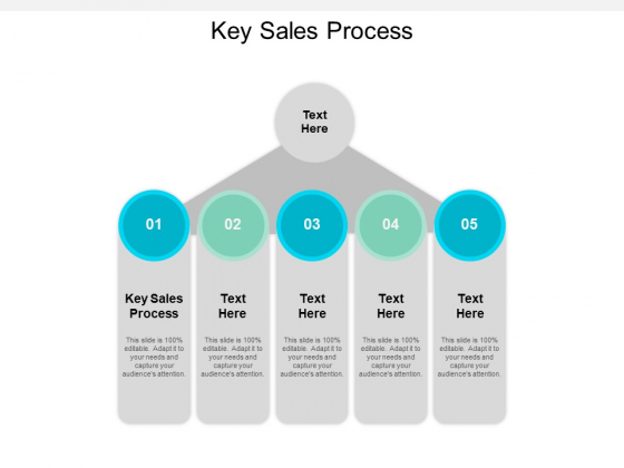 Key Sales Process Ppt PowerPoint Presentation Styles Guide Cpb
