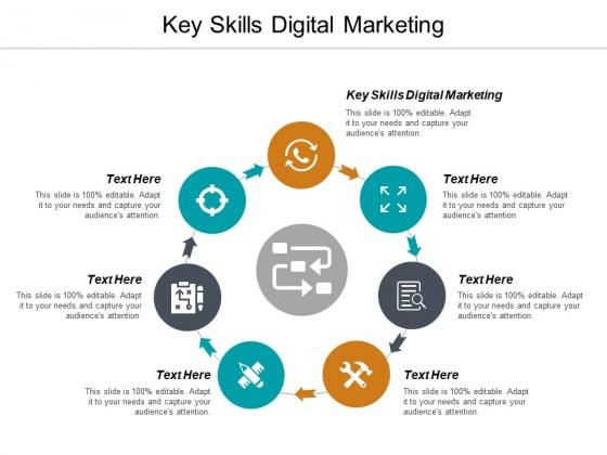 Key Skills Digital Marketing Ppt PowerPoint Presentation Styles Picture Cpb