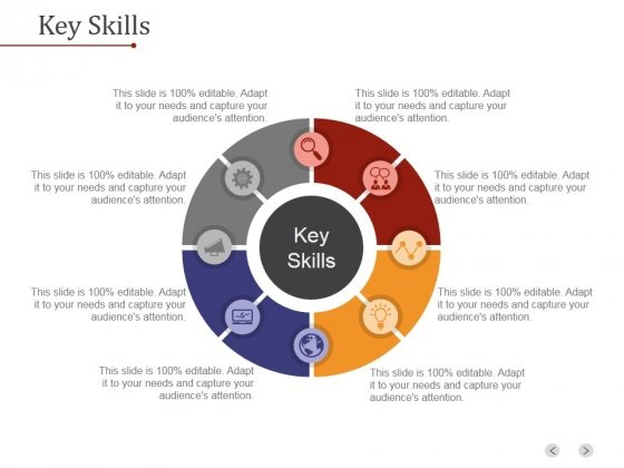 Key Skills Ppt PowerPoint Presentation Deck