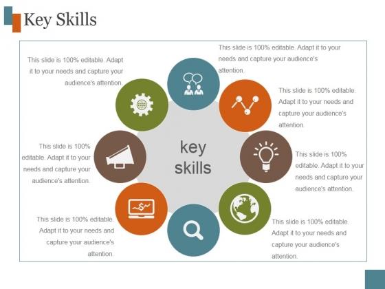 Key Skills Ppt PowerPoint Presentation Inspiration