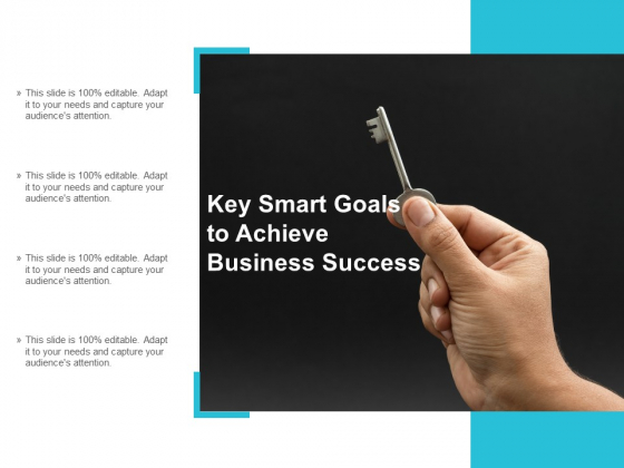 Key Smart Goals To Achieve Business Success Ppt Powerpoint Presentation Portfolio Example Topics
