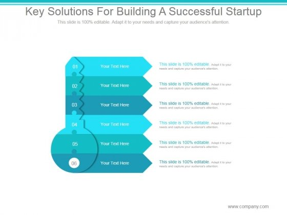 Key Solutions For Building A Successful Startup Ppt PowerPoint Presentation Infographics