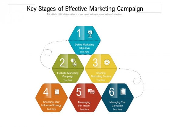 Key Stages Of Effective Marketing Campaign Ppt PowerPoint Presentation Gallery Designs PDF