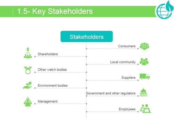 Key Stakeholders Ppt PowerPoint Presentation Example 2015
