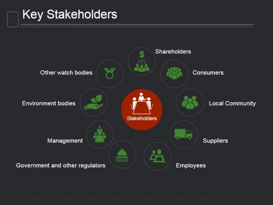 Key Stakeholders Ppt PowerPoint Presentation Good