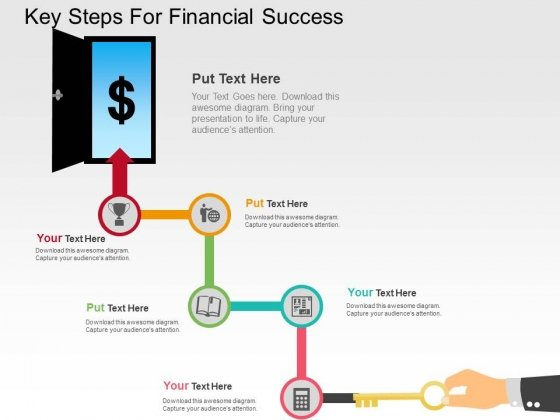 Key Steps For Financial Success Powerpoint Templates