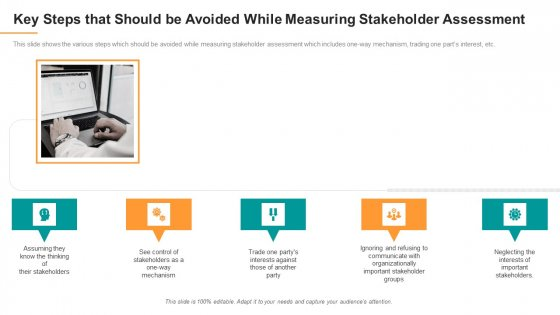 Key Steps That Should Be Avoided While Measuring Stakeholder Assessment Topics PDF