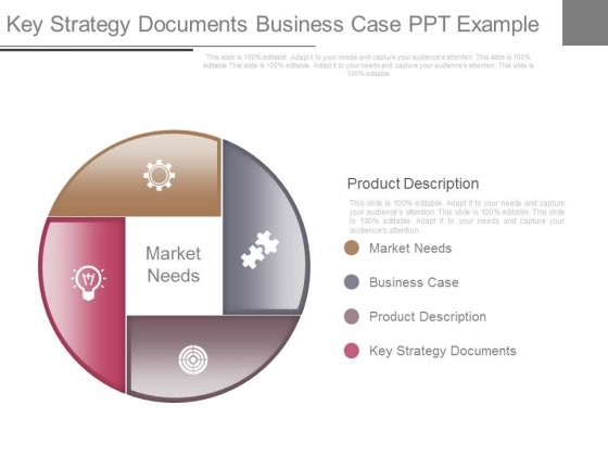 Key Strategy Documents Business Case Ppt Example