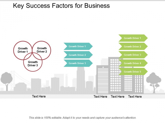 Key Success Factors For Business Ppt Powerpoint Presentation Layouts Microsoft