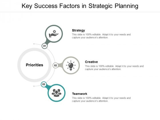 Key Success Factors In Strategic Planning Ppt PowerPoint Presentation Slides Show