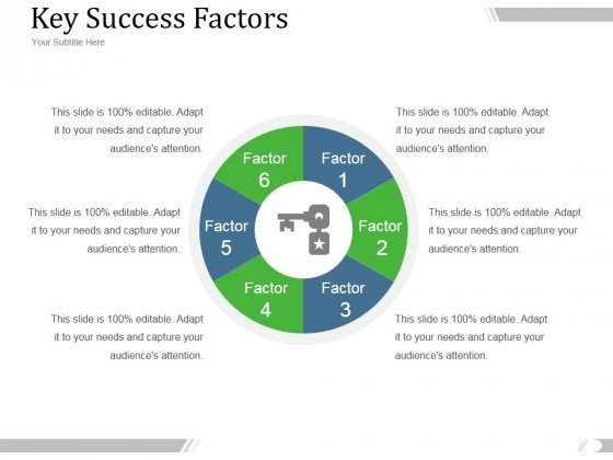 Key Success Factors Ppt PowerPoint Presentation Shapes