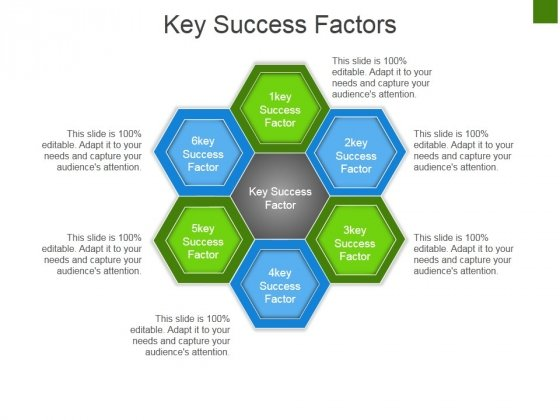 Key Success Factors Ppt PowerPoint Presentation Slides Background Image
