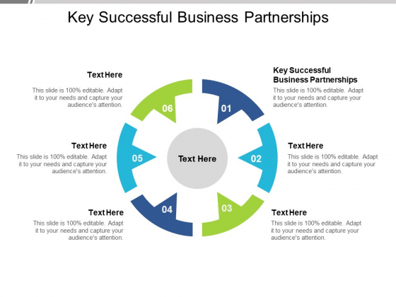 Key Successful Business Partnerships Ppt PowerPoint Presentation Pictures Graphics Design Cpb Pdf