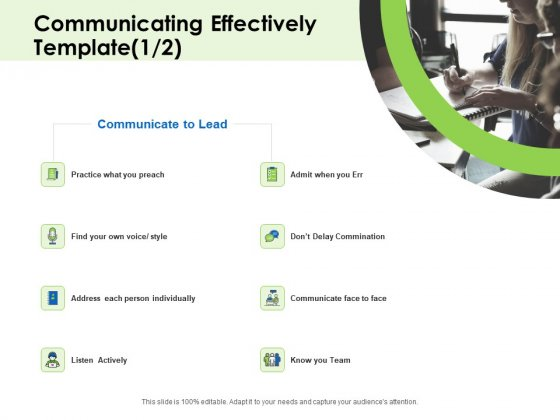 Key Team Members Communicating Effectively Ppt Outline Files PDF