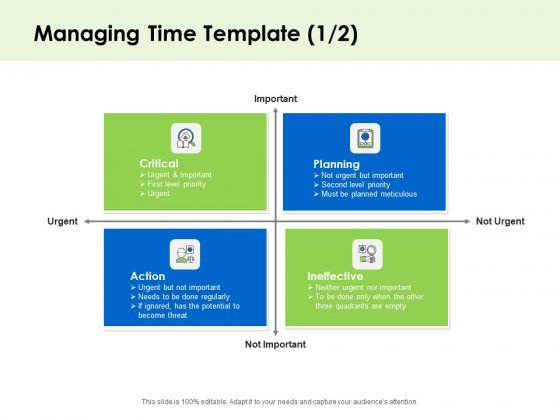 Key Team Members Managing Time Planning Ppt Slides Slideshow PDF