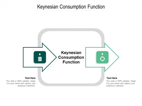 Keynesian Consumption Function Ppt PowerPoint Presentation Pictures Template Cpb Pdf