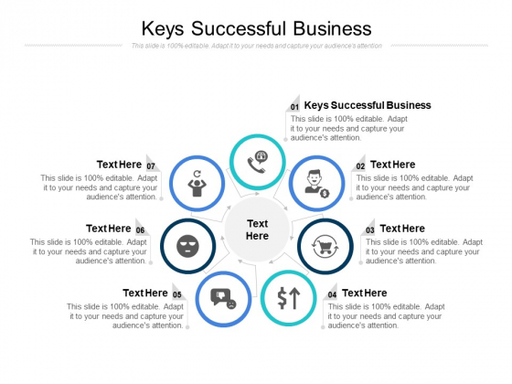 Keys Successful Business Ppt PowerPoint Presentation Styles Icons Cpb