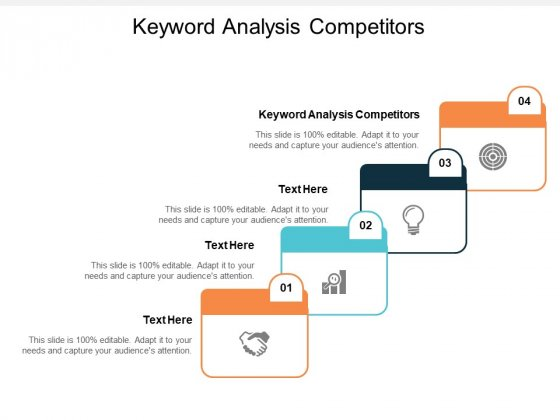 Keyword Analysis Competitors Ppt PowerPoint Presentation Infographic Template Images Cpb