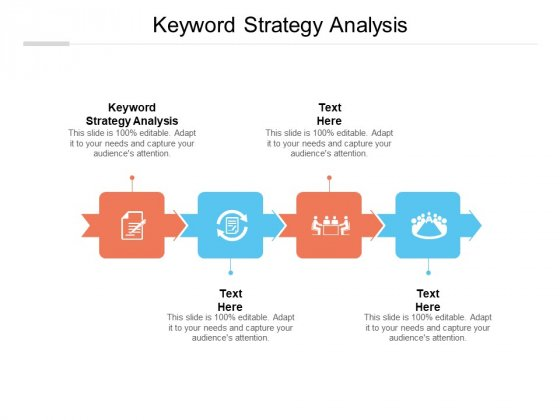 Keyword Strategy Analysis Ppt PowerPoint Presentation Ideas Graphics Template Cpb