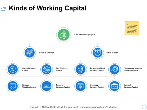 Kinds Of Working Capital Ppt PowerPoint Presentation Styles Images