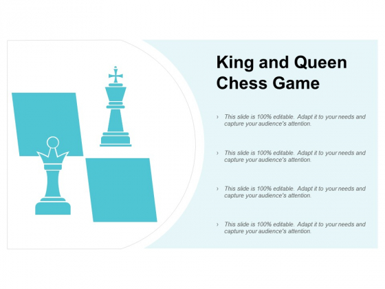 King And Queen Chess Game Ppt PowerPoint Presentation Ideas Inspiration
