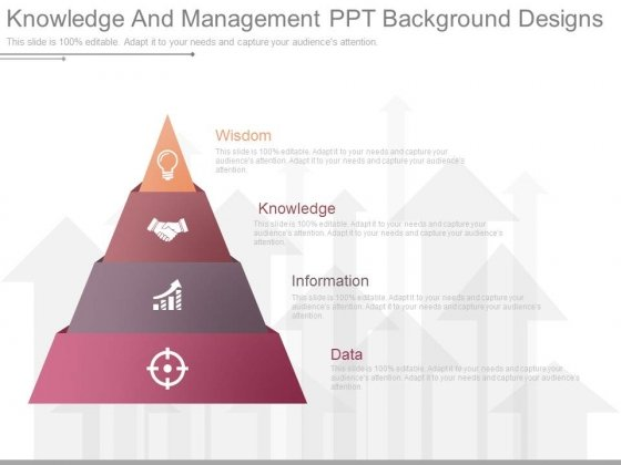 Knowledge And Management Ppt Background Designs