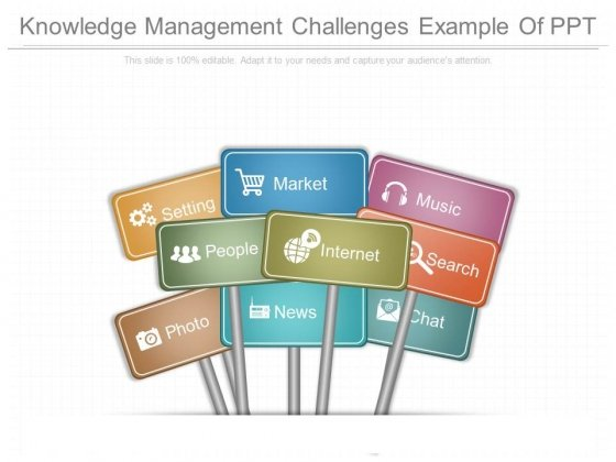 Knowledge Management Challenges Example Of Ppt