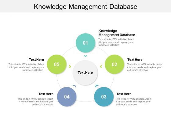 Knowledge Management Database Ppt PowerPoint Presentation Layouts Clipart Cpb