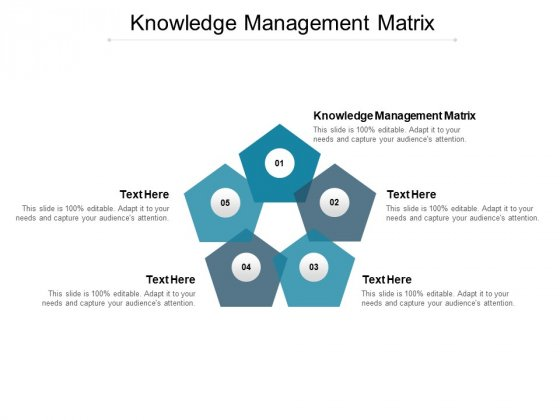 Knowledge Management Matrix Ppt PowerPoint Presentation Visual Aids Deck Cpb