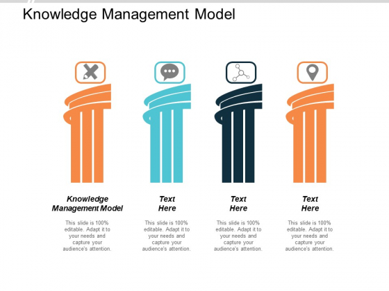 Knowledge Management Model Ppt Powerpoint Presentation Icon Example Introduction Cpb