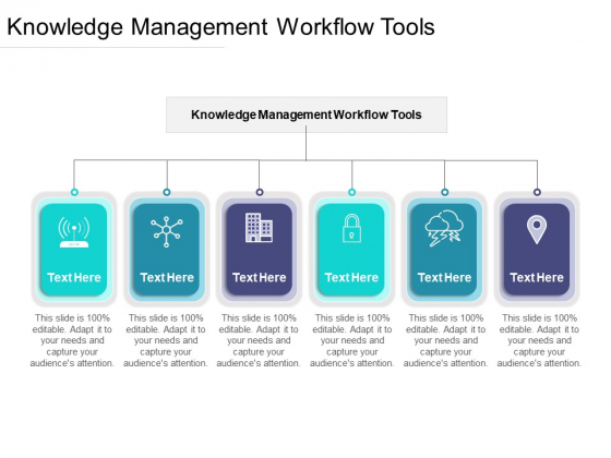 Knowledge Management Workflow Tools Ppt PowerPoint Presentation Icon Sample Cpb Pdf