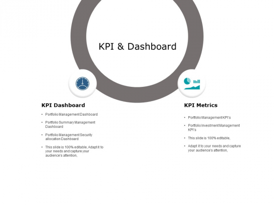Kpi And Dashboard Ppt PowerPoint Presentation Model Show