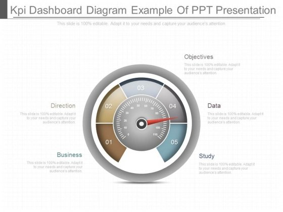 Kpi Dashboard Diagram Example Of Ppt Presentation